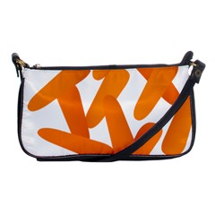 Carrot Vegetables Orange Shoulder Clutch Bags by Mariart