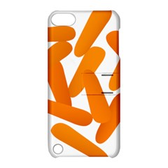 Carrot Vegetables Orange Apple Ipod Touch 5 Hardshell Case With Stand by Mariart