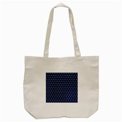 Blue White Anchor Tote Bag (cream) by Mariart
