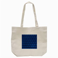 Blue Dragon Snakeskin Skin Snake Wave Chefron Tote Bag (cream) by Mariart