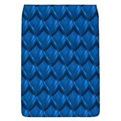 Blue Dragon Snakeskin Skin Snake Wave Chefron Flap Covers (s)  by Mariart