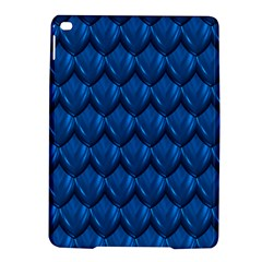 Blue Dragon Snakeskin Skin Snake Wave Chefron Ipad Air 2 Hardshell Cases by Mariart