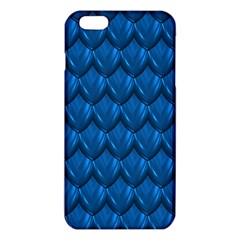 Blue Dragon Snakeskin Skin Snake Wave Chefron Iphone 6 Plus/6s Plus Tpu Case by Mariart