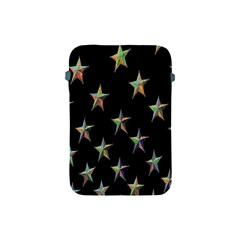 Colorful Gold Star Christmas Apple Ipad Mini Protective Soft Cases by Mariart