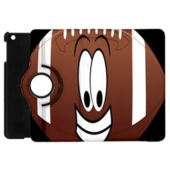 Happy Football Clipart Excellent Illustration Face Apple Ipad Mini Flip 360 Case by Mariart
