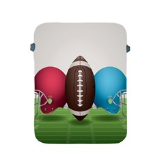Helmet Ball Football America Sport Red Brown Blue Green Apple Ipad 2/3/4 Protective Soft Cases by Mariart