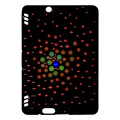 Molecular Chemistry Of Mathematical Physics Small Army Circle Kindle Fire Hdx Hardshell Case by Mariart