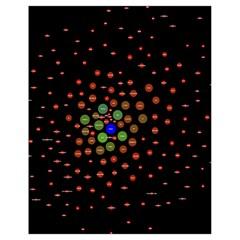 Molecular Chemistry Of Mathematical Physics Small Army Circle Drawstring Bag (small) by Mariart