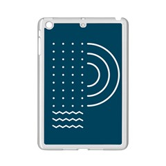 Parachute Water Blue Waves Circle White Ipad Mini 2 Enamel Coated Cases by Mariart