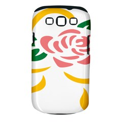 Pink Rose Ribbon Bouquet Green Yellow Flower Floral Samsung Galaxy S Iii Classic Hardshell Case (pc+silicone) by Mariart