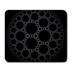 Plane Circle Round Black Hole Space Large Mousepads by Mariart
