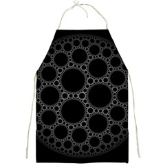 Plane Circle Round Black Hole Space Full Print Aprons by Mariart