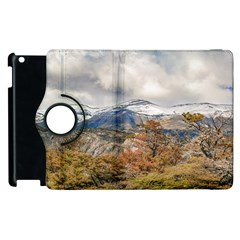 Forest And Snowy Mountains, Patagonia, Argentina Apple Ipad 3/4 Flip 360 Case by dflcprints