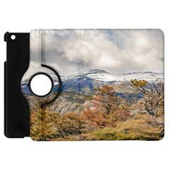 Forest And Snowy Mountains, Patagonia, Argentina Apple Ipad Mini Flip 360 Case by dflcprints