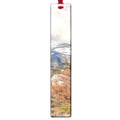 Forest And Snowy Mountains, Patagonia, Argentina Large Book Marks by dflcprints