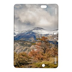 Forest And Snowy Mountains, Patagonia, Argentina Kindle Fire Hdx 8 9  Hardshell Case by dflcprints