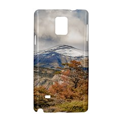 Forest And Snowy Mountains, Patagonia, Argentina Samsung Galaxy Note 4 Hardshell Case by dflcprints