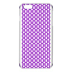 River Hyacinth Polka Circle Round Purple White Iphone 6 Plus/6s Plus Tpu Case by Mariart