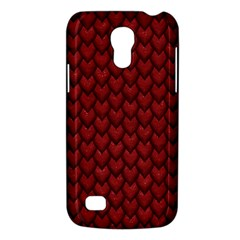 Red Snakeskin Snak Skin Animals Galaxy S4 Mini by Mariart