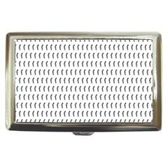 Renelle Box Waves Chevron Wave Line Cigarette Money Cases by Mariart