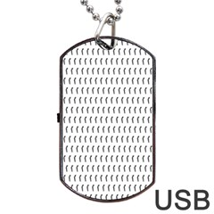 Renelle Box Waves Chevron Wave Line Dog Tag Usb Flash (one Side) by Mariart