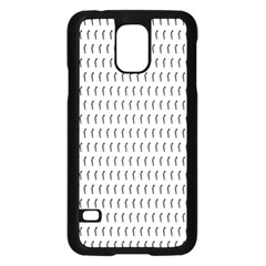 Renelle Box Waves Chevron Wave Line Samsung Galaxy S5 Case (black) by Mariart