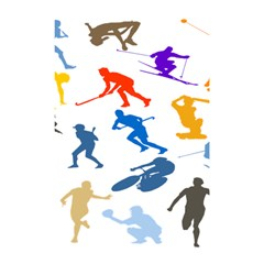 Sport Player Playing Shower Curtain 48  X 72  (small)  by Mariart