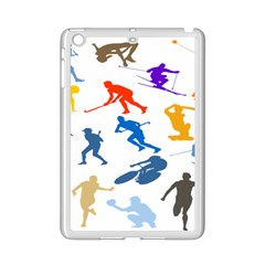 Sport Player Playing Ipad Mini 2 Enamel Coated Cases by Mariart