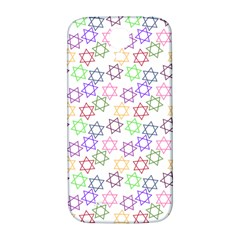 Star Space Color Rainbow Pink Purple Green Yellow Light Neons Samsung Galaxy S4 I9500/i9505  Hardshell Back Case by Mariart