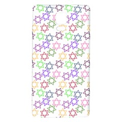Star Space Color Rainbow Pink Purple Green Yellow Light Neons Galaxy Note 4 Back Case by Mariart