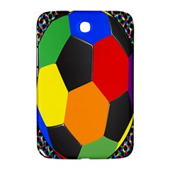 Team Soccer Coming Out Tease Ball Color Rainbow Sport Samsung Galaxy Note 8 0 N5100 Hardshell Case  by Mariart