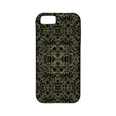 Golden Geo Tribal Pattern Apple Iphone 5 Classic Hardshell Case (pc+silicone) by dflcprints