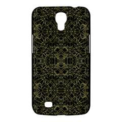 Golden Geo Tribal Pattern Samsung Galaxy Mega 6 3  I9200 Hardshell Case by dflcprints