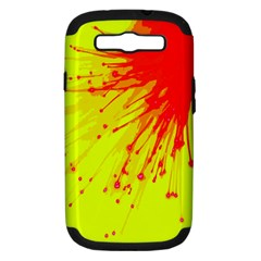 Big Bang Samsung Galaxy S Iii Hardshell Case (pc+silicone) by ValentinaDesign