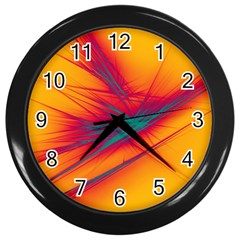 Big Bang Wall Clocks (black) by ValentinaDesign