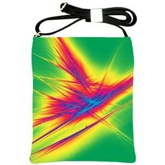 Big Bang Shoulder Sling Bags by ValentinaDesign
