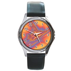 Big Bang Round Metal Watch by ValentinaDesign