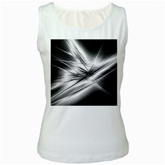 Big Bang Women s White Tank Top by ValentinaDesign