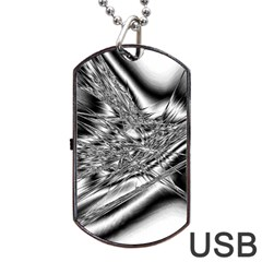 Big Bang Dog Tag Usb Flash (one Side) by ValentinaDesign