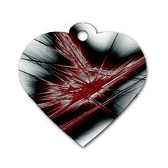 Big Bang Dog Tag Heart (one Side) by ValentinaDesign