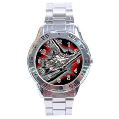 Big Bang Stainless Steel Analogue Watch by ValentinaDesign