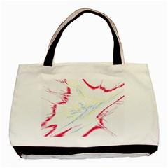 Big Bang Basic Tote Bag (two Sides) by ValentinaDesign