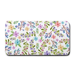Twigs And Floral Pattern Medium Bar Mats by Coelfen