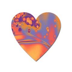 Lights Heart Magnet by ValentinaDesign