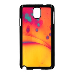 Lights Samsung Galaxy Note 3 Neo Hardshell Case (black) by ValentinaDesign