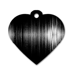 Lights Dog Tag Heart (one Side) by ValentinaDesign