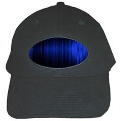 Lights Black Cap by ValentinaDesign