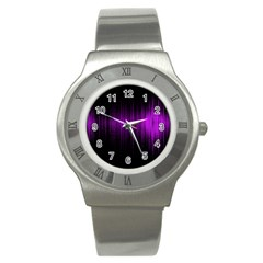 Light Stainless Steel Watch by ValentinaDesign