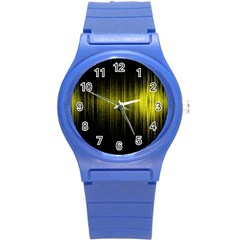 Light Round Plastic Sport Watch (s) by ValentinaDesign
