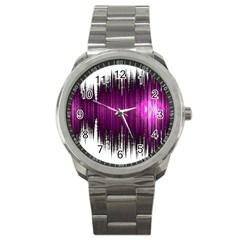 Light Sport Metal Watch by ValentinaDesign